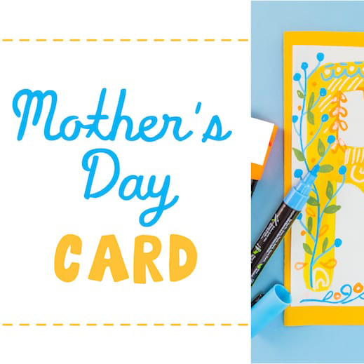 mother's day card graphic